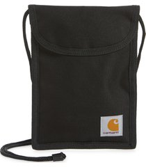 carhartt work in progress collins neck pouch, size one size