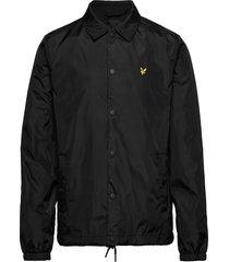 coach jacket dun jack zwart lyle & scott