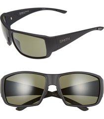 men's smith guide's choice 62mm chromapop(tm) plus sunglasses - matte black