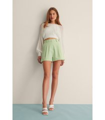curated styles shorts med veck - green