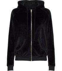 koala zip velvet hoodie trui zwart moshi moshi mind