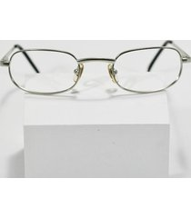 fossil kelly brushed silver spring-hinged eyeglass sunglass frames