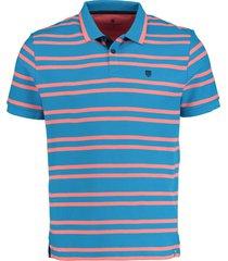 basefield shirt 1/2 219014262/605 blauw