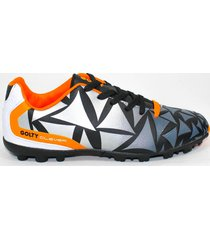 zapatillas torretin profesional clever golty - gris