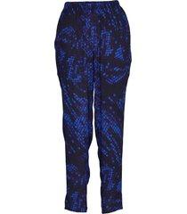 trousers pantalon met rechte pijpen blauw diana orving