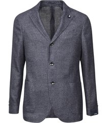 lardini 3 buttons knit jacket