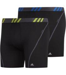 adidas men's 2-pk. sport performance mesh boxer briefs