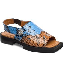 texas sandals shoes summer shoes flat sandals multi/mönstrad ganni