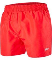 speedo fitted leis watershort zwembroek rood