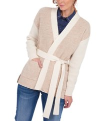 barbour dipton belted cardigan