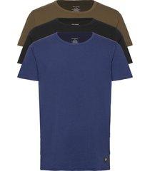 maxwell t-shirts short-sleeved multi/mönstrad lyle & scott