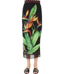 dolce & gabbana long skirt