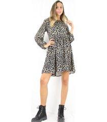 vestido alicia animal print jacinta tienda