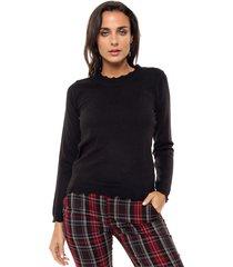 sweater negro nano gabrielle