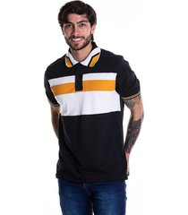 camiseta tipo polo-goco-1424-negra