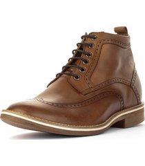zapato hipster café claro 7cms max denegri