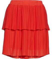 rik skirt kort kjol röd second female