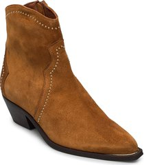 booties 3703 shoes boots ankle boots ankle boots with heel brun billi bi