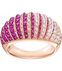 anillo abovedado de lujo rosa, baño en tono oro rosa  5412038