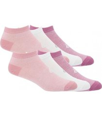 calcetín mujer pack 6 low cut body multicolor bsoul