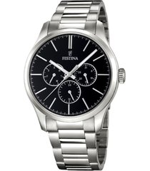 reloj boyfriend collection plateado festina