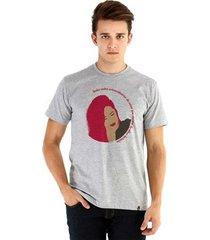 camiseta ouroboros manga curta visões masculina