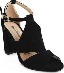 calzado dama tacon 542priscilanegro