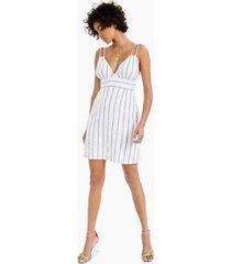 bar iii striped sleeveless sheath dress, created for macy's