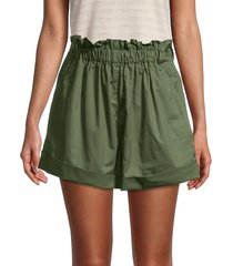 iro women's flared shorts - khaki - size 40 (8)