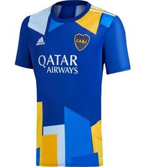 camiseta azul adidas boca 2021 4ta  edición especial