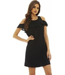 ax paris frill detail swing dress