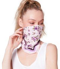 steve madden 2-pk. floral-print & tie-dyed cotton bandanas