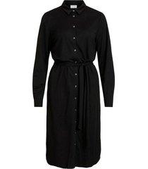 skjorklänning visafina midi l/s dress