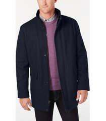 calvin klein men's wool blend car coat