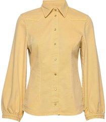 bonny overhemd met lange mouwen geel baum und pferdgarten