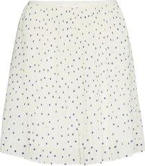 tatiana skirt aop 13149 kort kjol vit samsøe samsøe