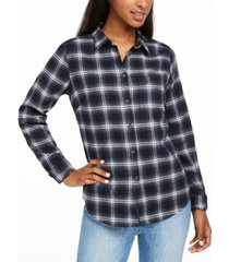 fjallraven ovik cotton plaid flannel shirt