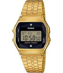 reloj casio a_159wged1 dorado acero inoxidable