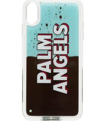 palm angels iphone xsmax liquid logo case
