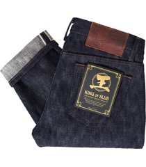 naked and famous indigo weird guy 'king of slub' selvedge jeans 101034103-ind