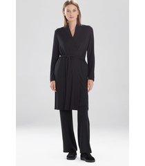 natori calm cardigan wrap robe, luxury women's robe, size s