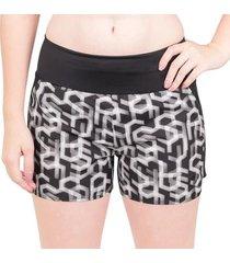 saia shorts asics 3.5in feminina