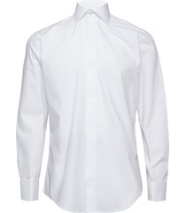 poplin | tuxedo - slim fit skjorta business vit seven seas copenhagen