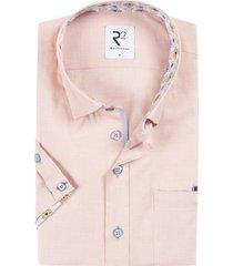 r2 shirt korte mouwen oranje