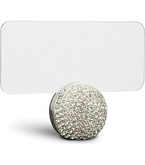 pavé sphere place card holder set