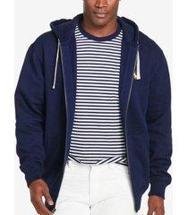 polo ralph lauren men's big and tall classic fleece full zip hoodie