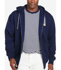 polo ralph lauren men's big & tall classic fleece full zip hoodie