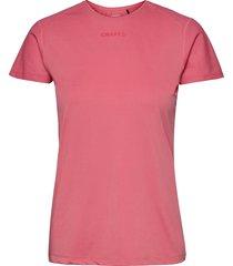 adv essence ss slim tee w t-shirts & tops short-sleeved rosa craft