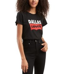 levi's batwing logo cotton cities t-shirt