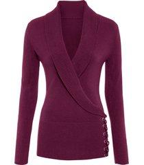 maglione con stringature (viola) - bodyflirt boutique